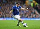 liverpool england seamus coleman everton during