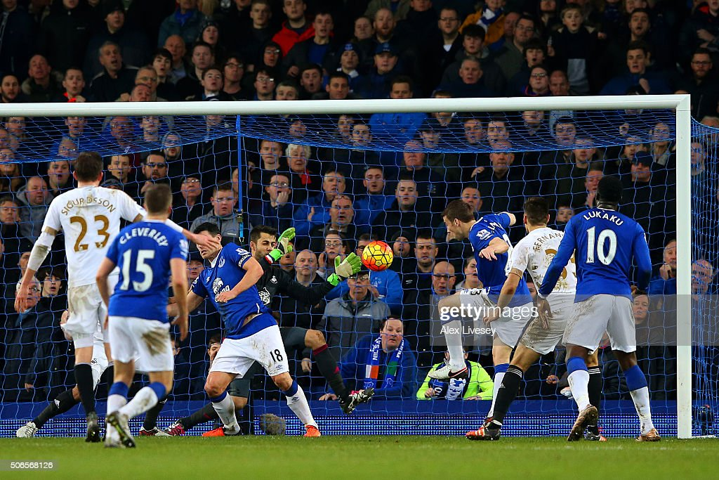 Everton v Swansea City - Premier League : News Photo