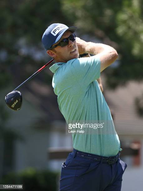 Seamus Power of Ireland plays a shot during the final round of the Rocket Mortgage Classic on July 05 2020 at the Detroit Golf Club in Detroit...