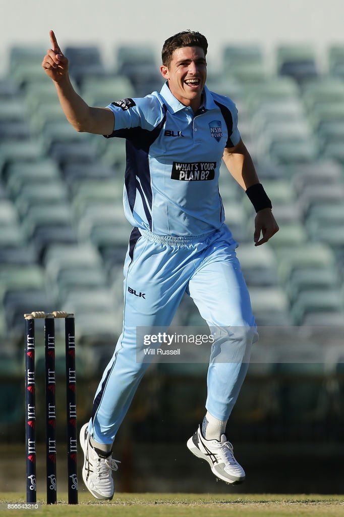 One Day Cup - NSW v TAS