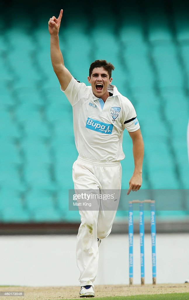 NSW v QLD - Sheffield Shield: Day 1 : News Photo