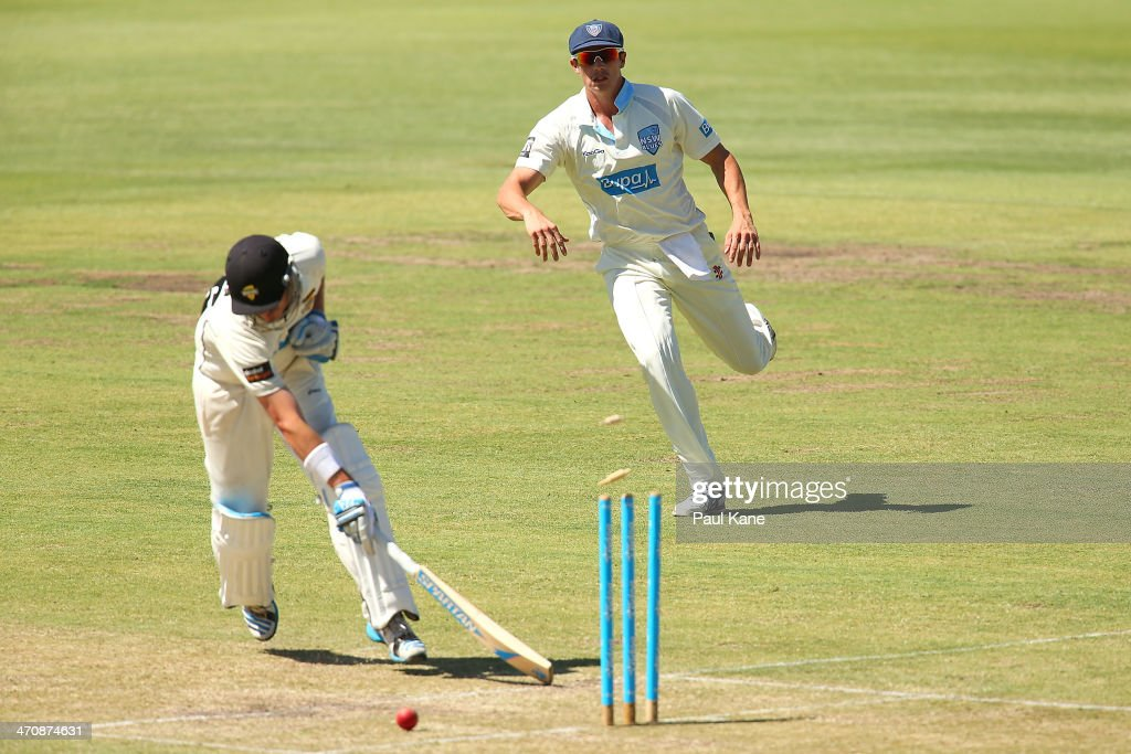 Sheffield Shield - Warriors v Blues: Day 2