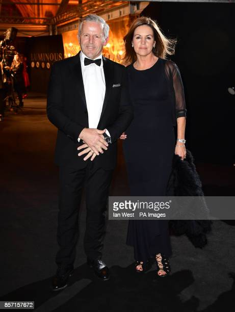 Sean and Bronwyn Fitzpatrick attending the BFI Luminous Fundraising Gala held at the Guildhall, London. PRESS ASSOCIATION Photo. Picture date:...