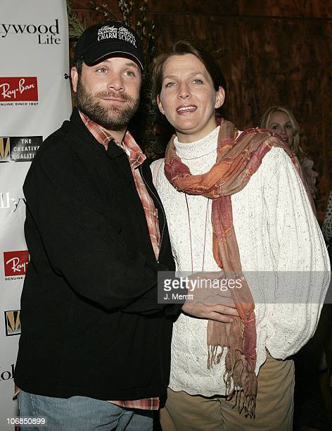 Sean Astin and wife Christine during 2005 Sundance Film Festival Ray Ban Visionary Award to Kevin Bacon Hosted by TCC/Hollywood Life at Stein...