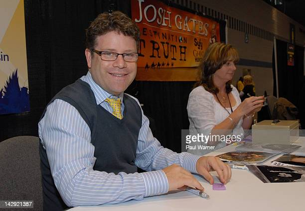 Sean Astin attends the 2012 Chicago Comic and Entertainment Expo at McCormick Place on April 14 2012 in Chicago Illinois