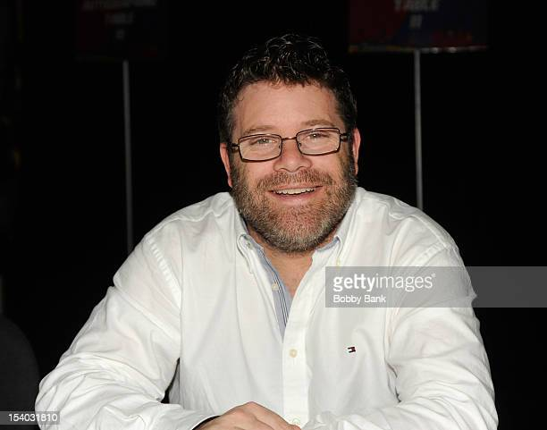 Sean Astin attends the 2012 New York Comic Con at the Javits Center on October 12 2012 in New York City