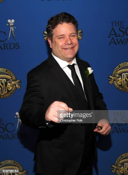 Sean Astin attends the 32nd Annual American Society Of Cinematographers Awards at The Ray Dolby Ballroom at Hollywood Highland Center on February 17...