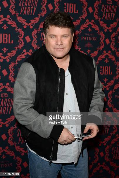 Sean Astin attends the season 2 premiere of 'Search Party' at Public Arts at Public on November 8 2017 in New York City