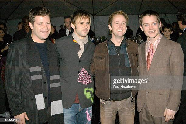 Sean Astin Dominic Monaghan Billy Boyd and Elijah Wood