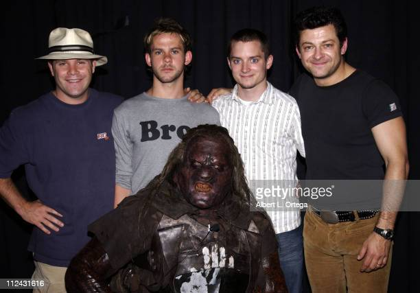 Sean Astin Dominic Monaghan Elijah Wood Andy Serkis and Sala Baker