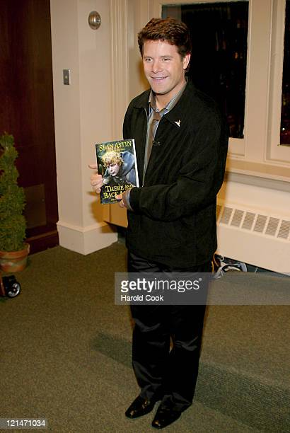 Sean Astin during Sean Astin Signs his New Book 'There and Back Again An Actor's Tale' October 13 2004 at Barnes Noble Union Square in New York City...