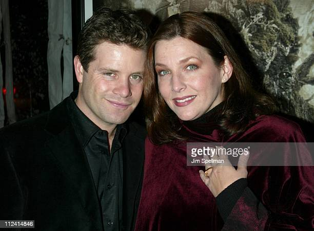Sean Astin wife Christine during 'The Lord of The Rings The Two Towers' Premiere New York at Ziegfeld Theatre in New York City New York United States