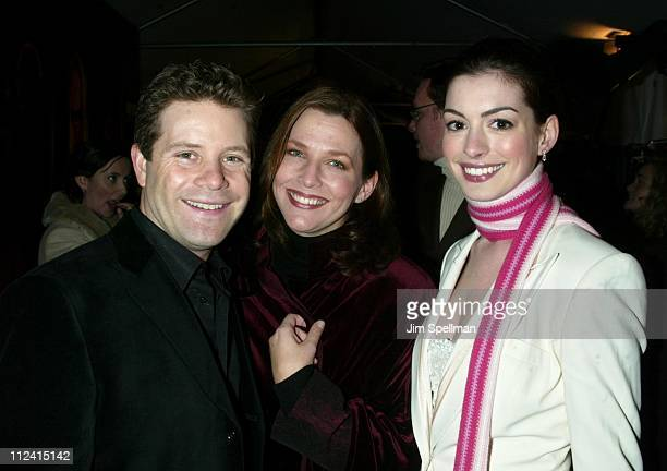 Sean Astin with wife Christine Anne Hathaway during 'The Lord of The Rings The Two Towers' Premiere New York at Ziegfeld Theatre in New York City New...