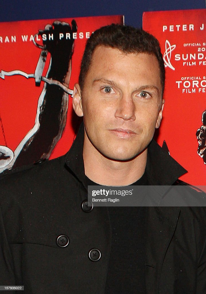 Sean Avery attends the 'West Of Memphis' premiere at Florence Gould Hall on December 7, 2012 in New York City.