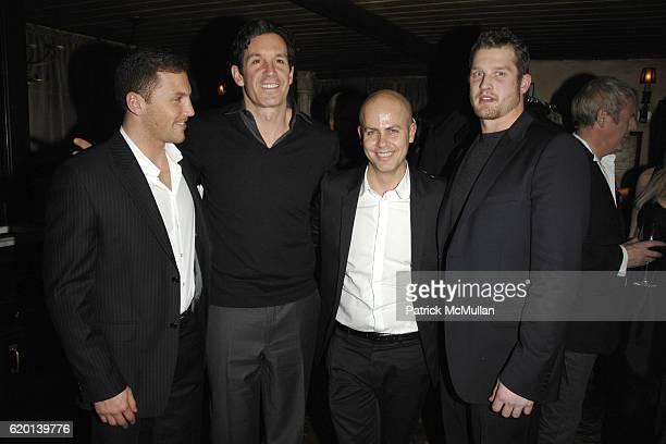 Sean Avery Brendan Shanahan Italo Zucchelli and Colton Orr attend CALVIN  KLEIN COLLECTION Fall 2008 Post 76ff4b55bce