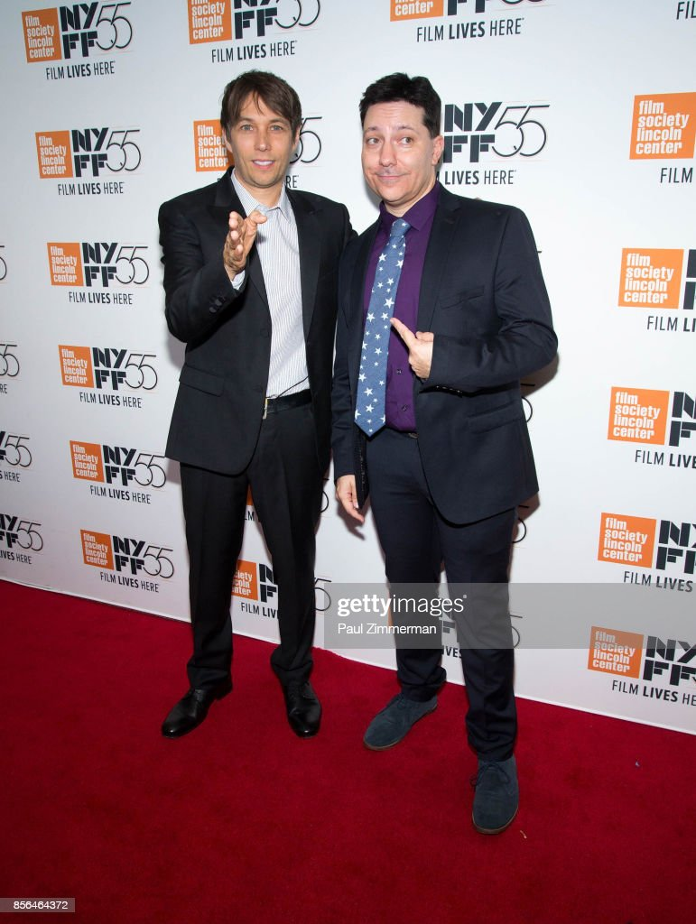 Sean Baker and Chris Bergoch attend the 55th New York Film Festival - 'The Florida Project' at Alice Tully Hall on October 1, 2017 in New York City.