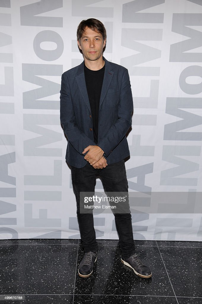 Sean Baker attends the 'Tangerine' New York screening at MoMA Titus One on December 2, 2015 in New York City.