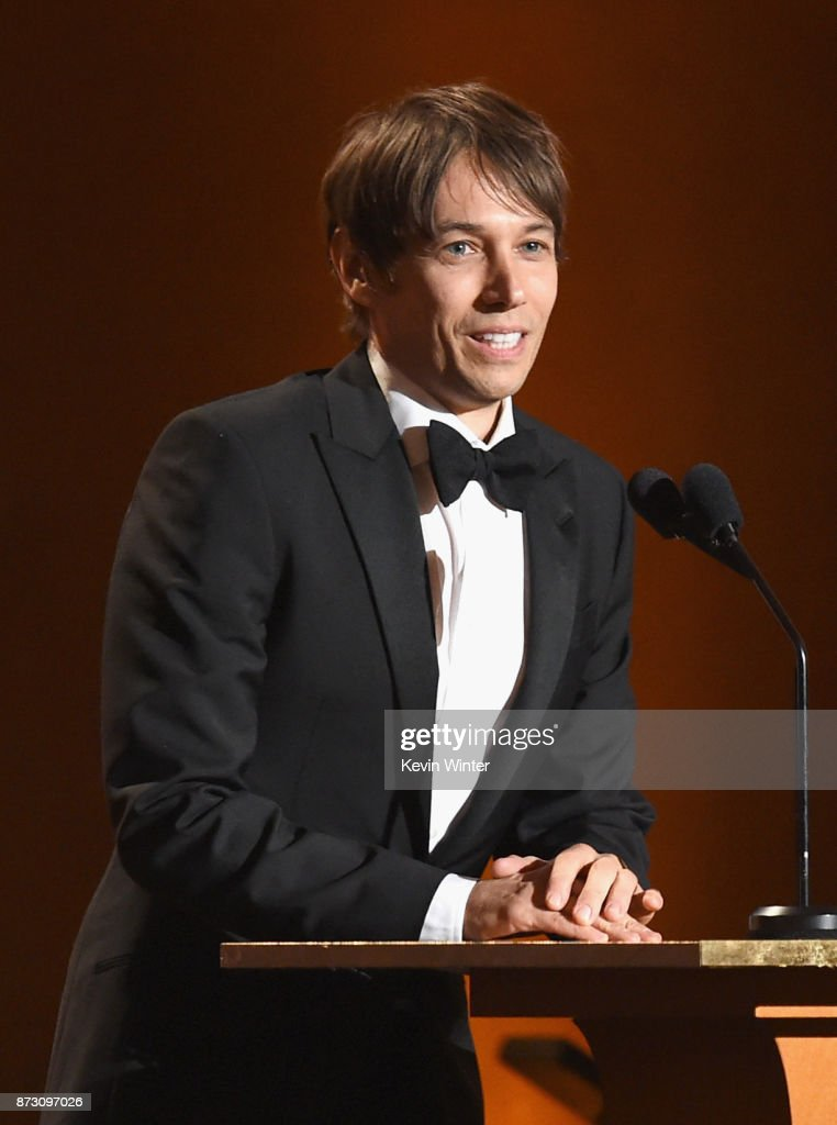 Sean Baker speaks onstage at the Academy of Motion Picture Arts and Sciences' 9th Annual Governors Awards at The Ray Dolby Ballroom at Hollywood & Highland Center on November 11, 2017 in Hollywood, California.