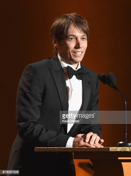 Sean Baker speaks onstage at the Academy of Motion Picture Arts and Sciences' 9th Annual Governors Awards at The Ray Dolby Ballroom at Hollywood...