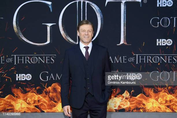 Sean Bean attends the Game Of Thrones Season 8 Premiere on April 03 2019 in New York City
