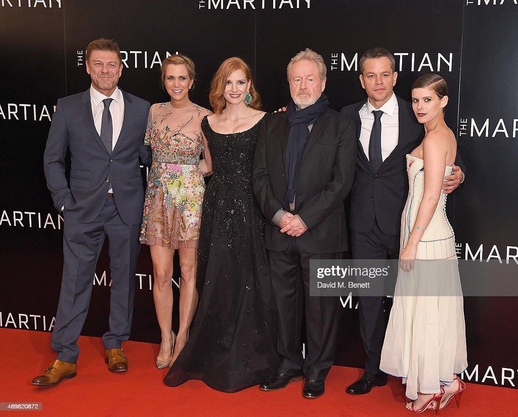 """The Martian"" - European Premiere - VIP Arrivals : News Photo"