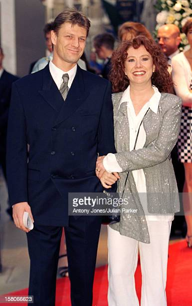Sean Bean Melanie Hill Attend A Gianni Versace Book Launch Party At His Store In London'S Bond Street