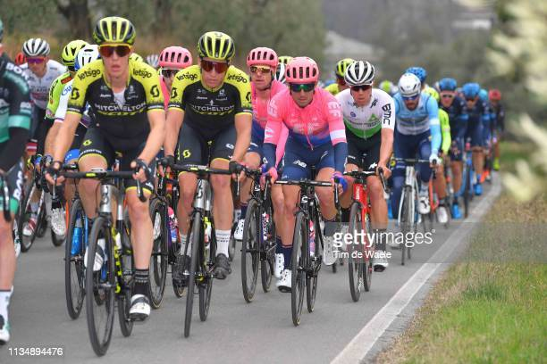 Sean Bennett of The United States and Team EF Education First / Peloton / during the 42nd GP Industria e Artigianato 2019 a 199,2km race from...