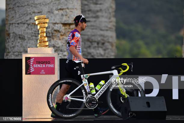 Sean Bennett of The United States and Team EF Pro Cycling / Trofeo Senza Fine / Trophy / during the 103rd Giro d'Italia 2020, Team Presentation in...
