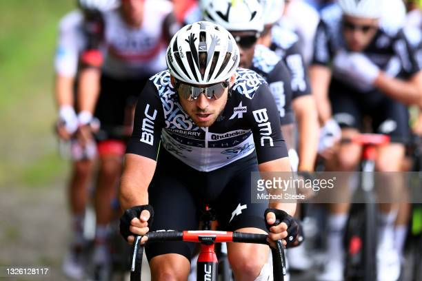 Sean Bennett of The United States and Team Qhubeka NextHash during the 108th Tour de France 2021, Stage 4 a 150,4km stage from Redon to Fougères /...