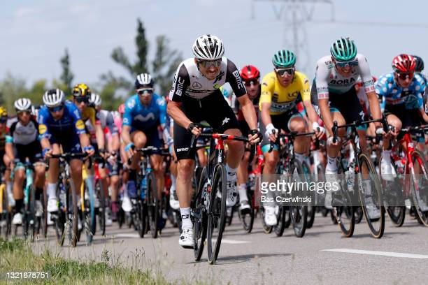 Sean Bennett of United States and Team Qhubeka Assos during the 73rd Critérium du Dauphiné 2021, Stage 6 a 167,2km stage from Loriol-sur-Drome to Le...