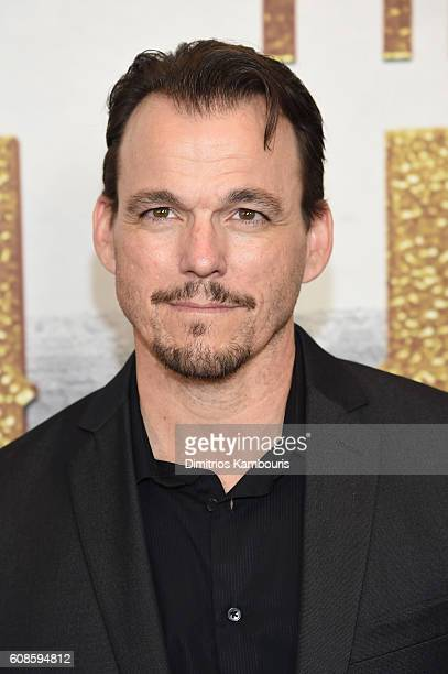 Sean Boyd attends The Magnificent Seven premiere at Museum of Modern Art on September 19 2016 in New York City