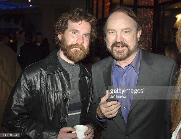 Sean Bridgers and Jim Beaver during HBO's 'Deadwood' Season 2 Los Angeles Premiere After Party in Los Angeles California United States