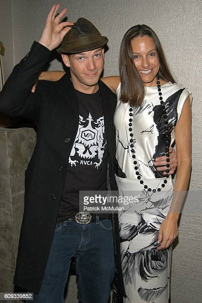 Sean Brosnan and Bobette Cohn attend THE CINEMA SOCIETY AfterParty for SERAPHIM FALLS at Soho Grand Penthouse on January 23 2007 in New York City
