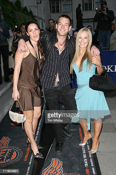 Sean Brosnan and Cordelia Neville during Drivin' Me Crazy Gumball Film Premiere Outside Arrivals at Savoy Place in London Great Britain
