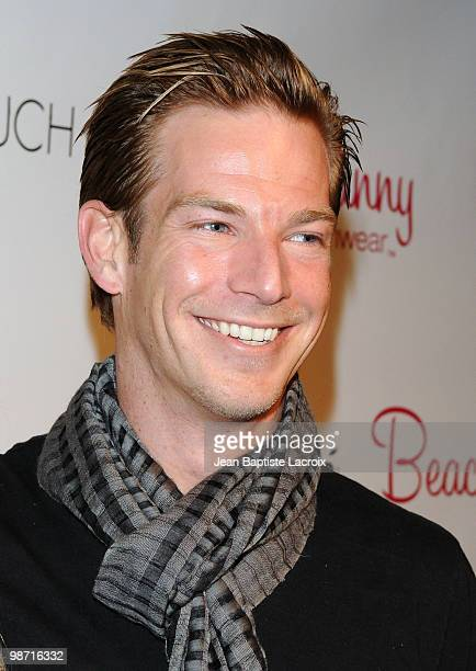 Sean Brosnan attends the Beach Bunny Swimwear's grand opening party on April 27 2010 in Los Angeles California