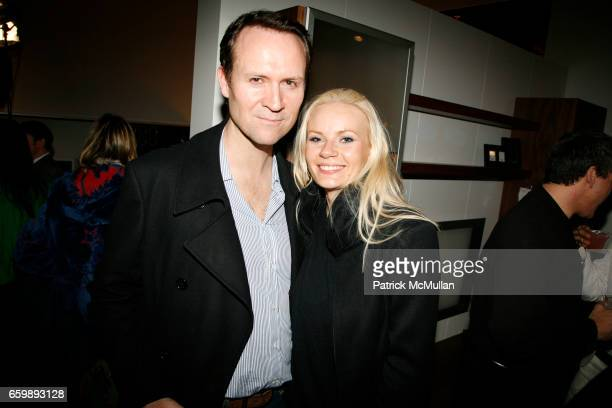 Sean Campbell and Maria attend 7th Annual BoCONCEPT/KOLDESIGN Holiday Party at Bo Concept Madison Ave on December 15 2009 in New York