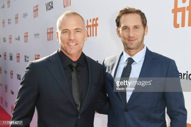 "Sean Carrigan and Josh Lucas attend the ""Ford v Ferrari"" premiere during the 2019 Toronto International Film Festival at Roy Thomson Hall on..."