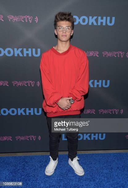 Sean Cavaliere attends the premiere party for LookHu's Slasher Party at ArcLight Hollywood on September 18 2018 in Hollywood California
