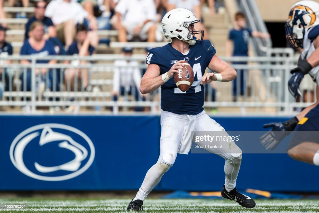 Kent State v Penn State : News Photo
