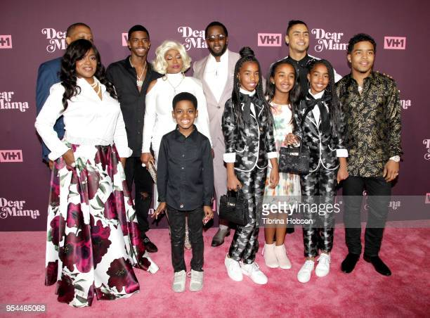 Sean Combs and his family attend VH1's 3rd annual 'Dear Mama A Love Letter To Moms' screening at The Theatre at Ace Hotel on May 3 2018 in Los...