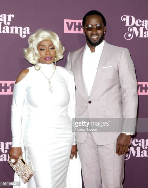 Sean Combs and his mother attend VH1's 3rd annual 'Dear Mama A Love Letter To Moms' screening at The Theatre at Ace Hotel on May 3 2018 in Los...