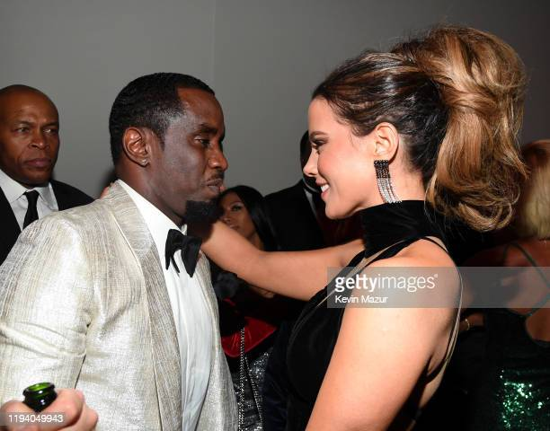 Sean Combs and Kate Beckinsale attend Sean Combs 50th Birthday Bash presented by Ciroc Vodka on December 14 2019 in Los Angeles California