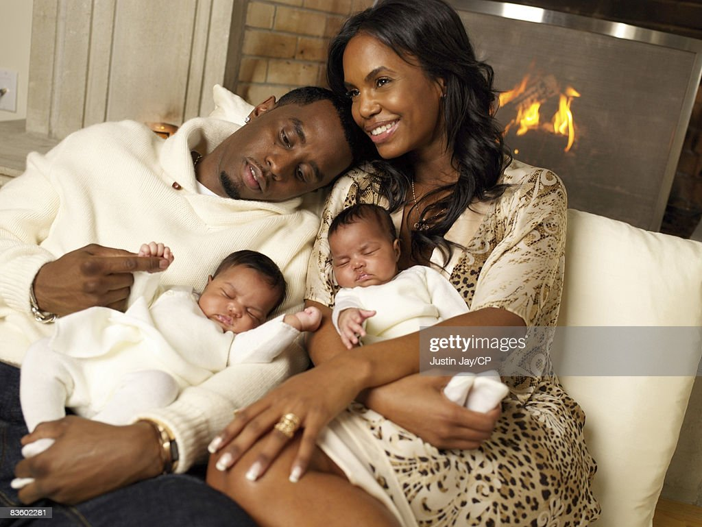 Photos et images de Sean Combs & Kim Porter by Justin Jay ...