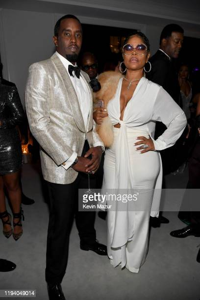 Sean Combs and Misa Hylton attend Sean Combs 50th Birthday Bash presented by Ciroc Vodka on December 14, 2019 in Los Angeles, California.