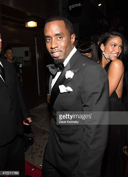 Sean Combs arrives at Rihanna's Private Met Gala After Party at Up & Down on May 4, 2015 in New York City.