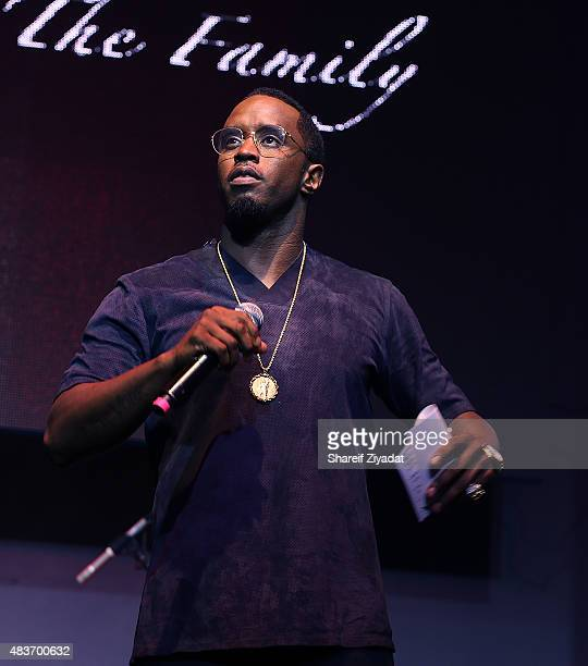 Sean Combs at Stage 48 on August 11 2015 in New York City