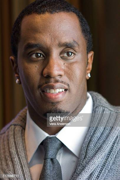 Sean Combs at the 'A Raisin In The Sun' press conference at the Four Seasons Hotel on January 25 2008 in Beverly Hills California