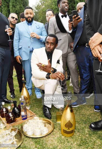 Sean Combs attends 2020 Roc Nation THE BRUNCH on January 25 2020 in Los Angeles California