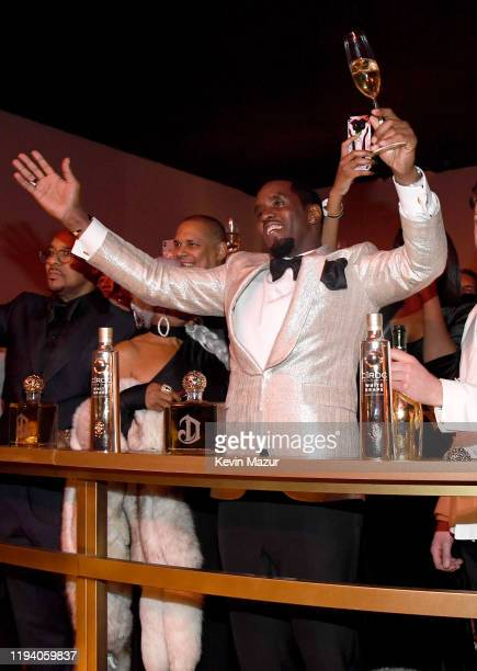 Sean Combs attends Sean Combs 50th Birthday Bash presented by Ciroc Vodka on December 14, 2019 in Los Angeles, California.
