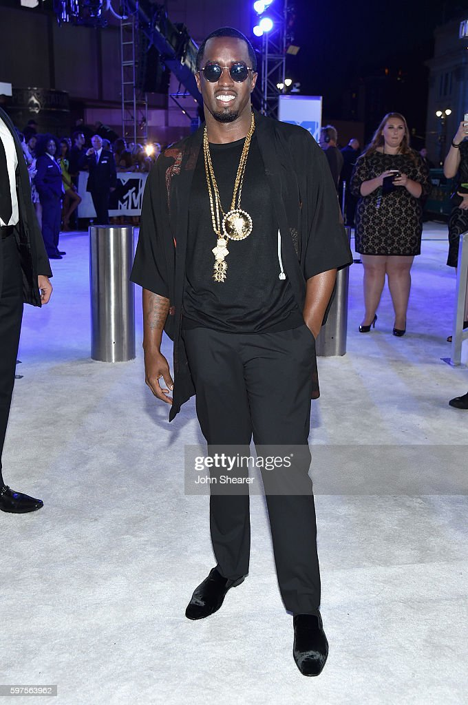 Sean Combs attends the 2016 MTV Video Music Awards on August 28, 2016 in New York City.